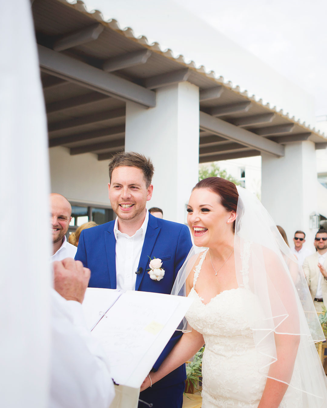 Destination wedding ceremony in Ibiza