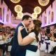First dance at a Hanbury Manor wedding